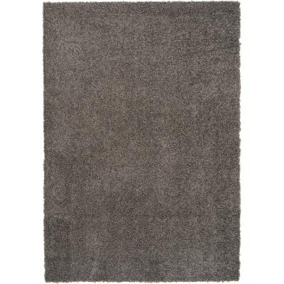 Alfombra shaggy gusto 160x230 cm gris