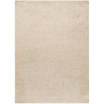 Alfombra shaggy gusto 160x230 cm blanco invierno