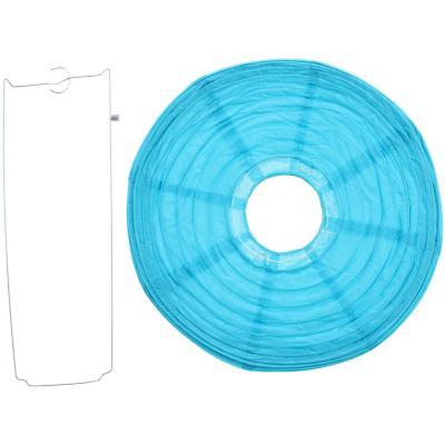 Pantalla papel azul 30 cm