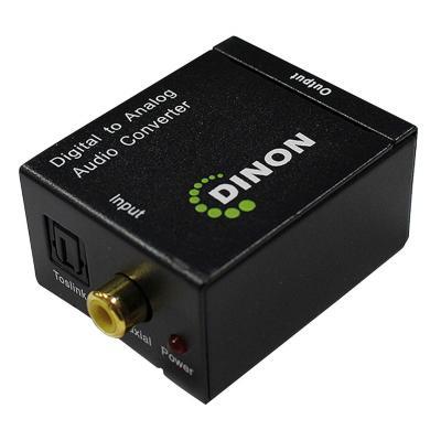 Conversor audio digital a analogo stereo