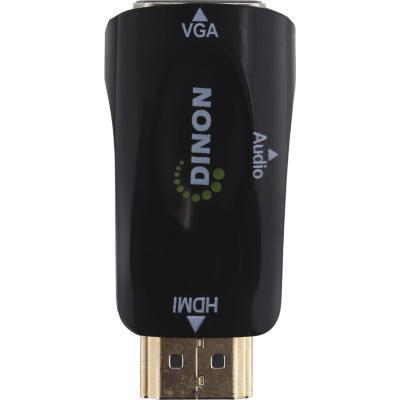 Conversor de video HDMI a VGA + audio 3.5mm