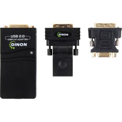 Conversor de video USB 2.0 a DVI/VGA/HDMI