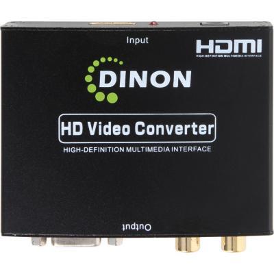 Conversor HDMI a VGA + audio hdtv 1080p