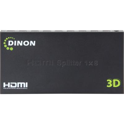 Splitter HDMI amplificado 8 salidas