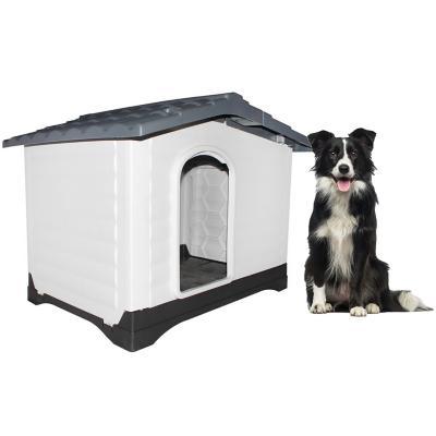 Casa plástica abertura lateral