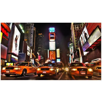 Canvas Taxi 40x70 cm