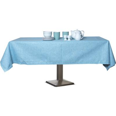 Mantel rectangular turquesa 180x280 cm