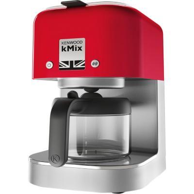 Cafetera eléctrica 0,84 litros rojo
