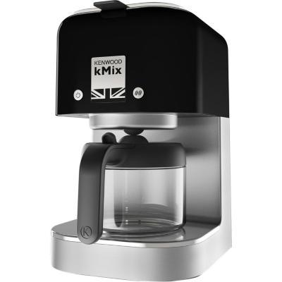 Cafetera eléctrica 0,84 litros negro