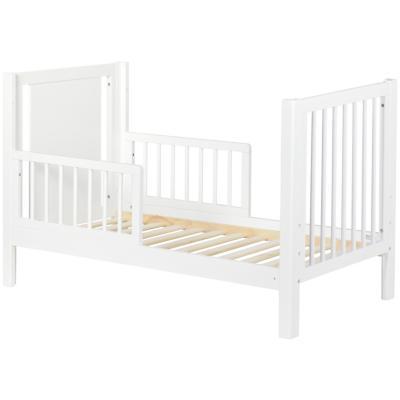 Cuna 135-166x76x85 cm blanco