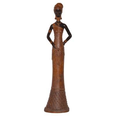Africana parada ocre 49 cm