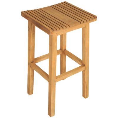 Taburete madera 74x40x36 cm