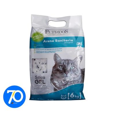 Arena sanitaria para gatos de silica gel 6 kg