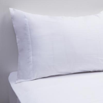 Juego de sábanas 180 hilos blanco 1,5 Plaza