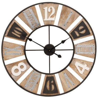 Reloj muro 70x70 cm métalico