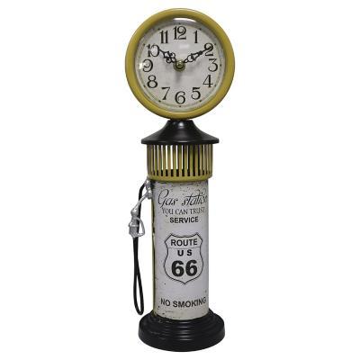 Reloj de mesa 23x22 cm Amarillo