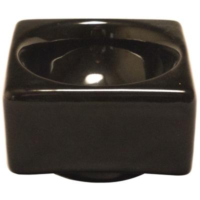 Cenicero Milán 11 cm negro