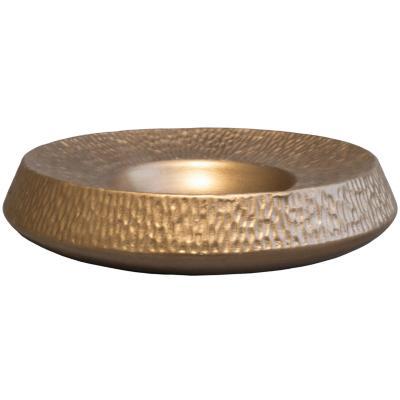 Cenicero rustico 23 cm cobre
