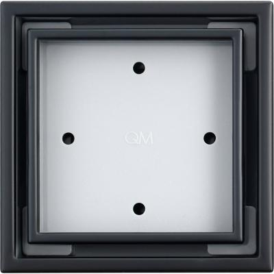 Desague cuadrado 10,2x10,2 cm acero