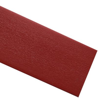 Tapacanto PVC Rojo encolado 22x0,45 mm 10 m