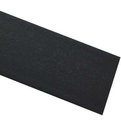 Tapacanto PVC Grafito encolado 22x0,45 mm 10 m