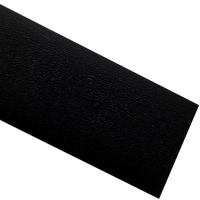 Tapacanto PVC Negro encolado 22x0,45 mm 10 m