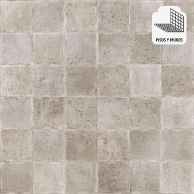 Porcelanato gris 60x60 cm 1,08 m2