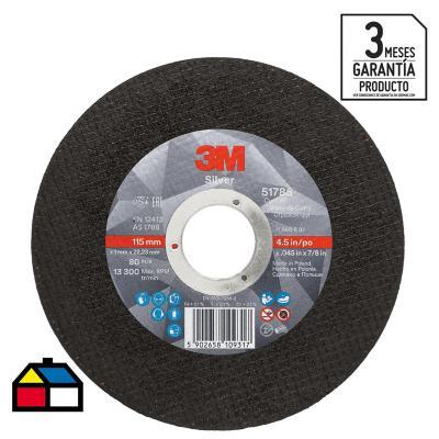 Disco de corte acero inoxidable 4,5'' x 1,0 mm