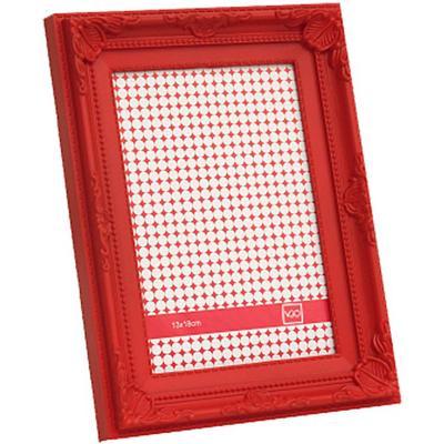 Marco 10x15 cm Plástico Antique  Rojo