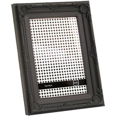 Marco 20x25 cm Plástico Antique Negro