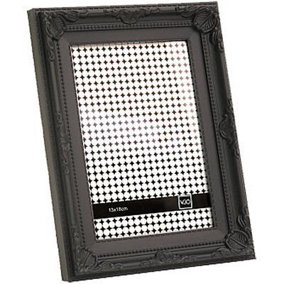 Marco 15x20 cm Plástico Antique Negro