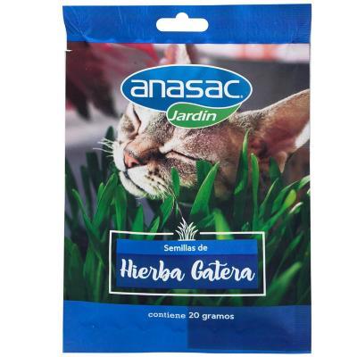 Semilla de Hierba para Gato Anasac 20 gramos