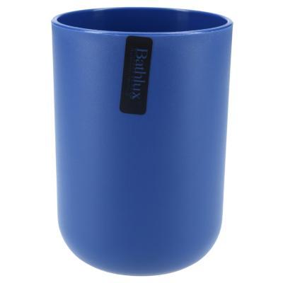 Vaso para enjuague bucal azul