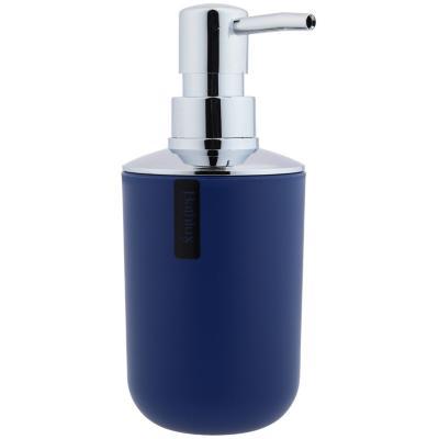 Dispensador de jabón azul
