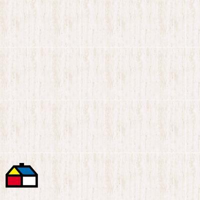 Porcelanato 30x60 blanco mate 1,44 m2