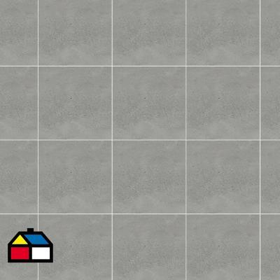 Porcelanato 60x60 plata rugoso 1,44 m2