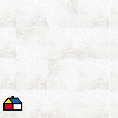 Porcelanato blanco 60x60 cm 1,44 m2