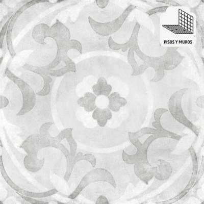 Porcelanato 60x60 plata mate 1,44 m2