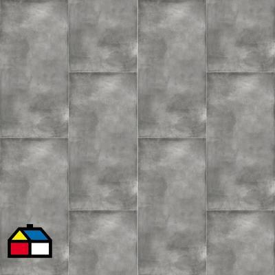 Porcelanato 60x120 grafito mate 1,44 m2