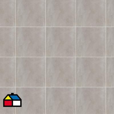 Porcelanato 60x60 trav gris pul 1.44