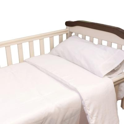 Cobertor bebé cuna blanco 110x145 cm