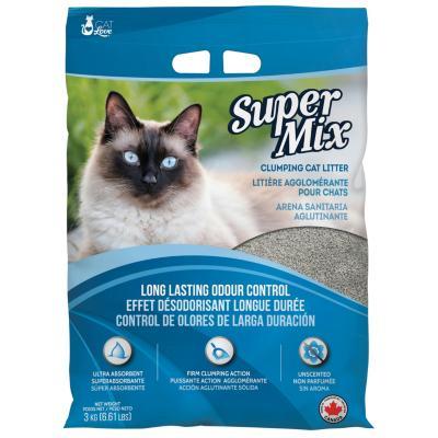 Arena sanitaria para gato aglutinante 3 kilos