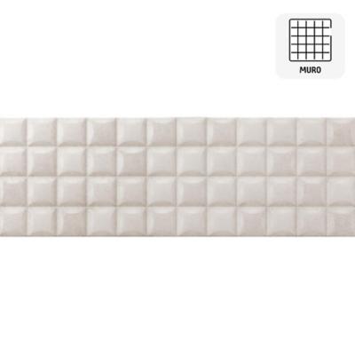 Cerámica muro 25x75 cm blanco 1,33 m2