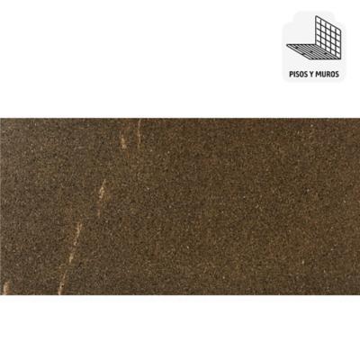 Porcelanato esmaltado impresión digital 30x60 café 1,44 m2