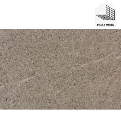 Porcelanato esmaltado impresión digital 30x60 gris mate 1,44 m2