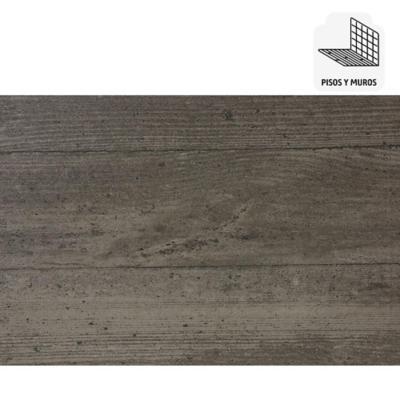 Porcelanato esmaltado impresión digital 15x90 cm gris 1,08 m2