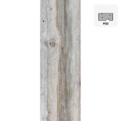 Cerámica piso 20x60 cm gris 1,08 m2