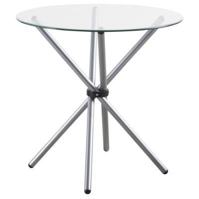 Mesa de comedor redonda 80x80 cm