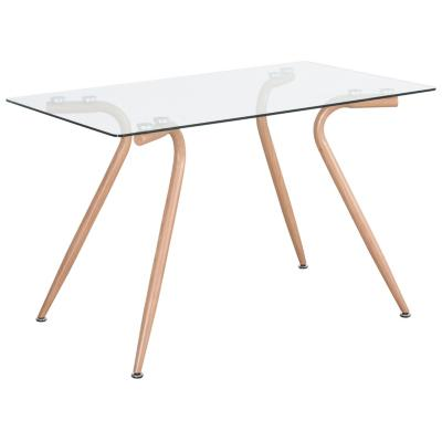 Mesa de comedor rectangular 120x70 cm
