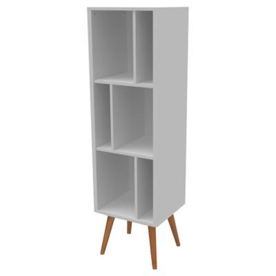 Librero 41x36x141 cm MDF blanco
